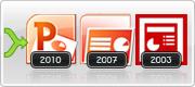 Support de l'entrée Nouveau PowerPoint 2010