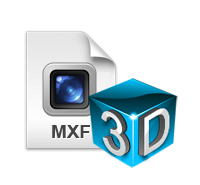 MXF to 3D